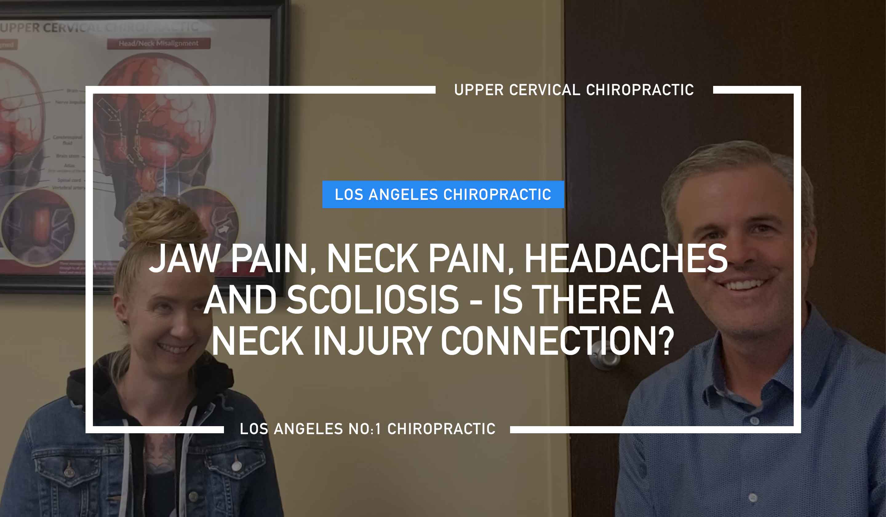 Jaw pain, neck pain, headaches and scoliosis
