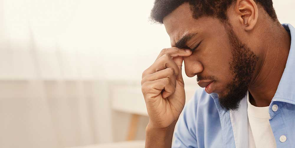 When people suffer from chronic or long-lasting episodes of stress, anxiety, fear, uneasiness, nervousness, and the mental impact can become chronic.