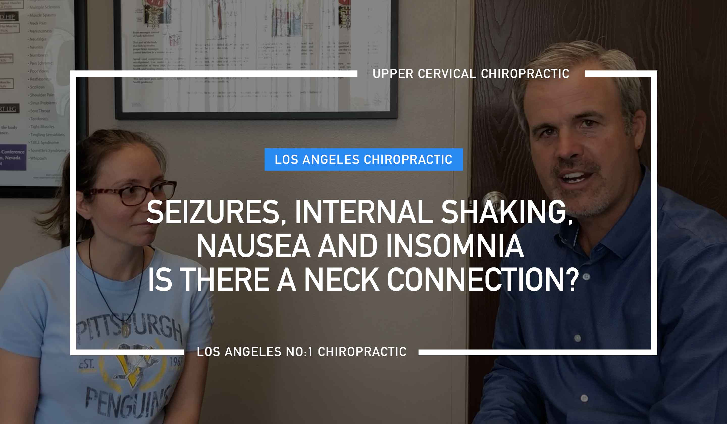 Recently we interviewed one of our new patients who has suffered from seizures, internal shaking, insomnia, low energy, and neck pain for years.  Unfortunately for 11 years, she went from doctor to doctor looking for help.