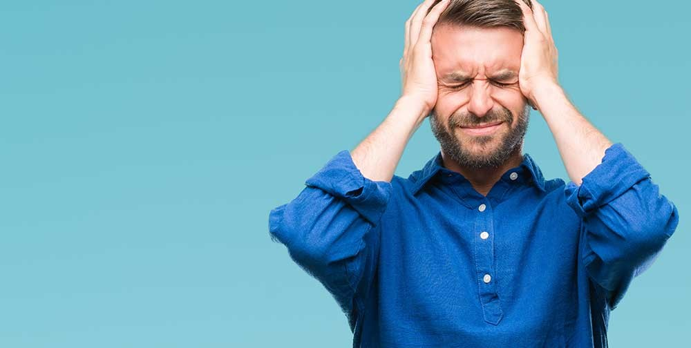 If a person has been injured in a car crash, a sporting accident, or some other accident that caused a blow to the head, even if it was mild, they may be suffering from post-concussion syndrome.