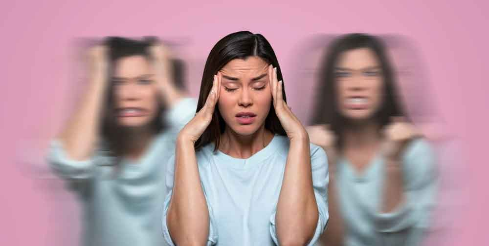 Whether you have a migraine headache or a cluster headache both can be completely debilitating. Migraine headaches usually have an aura and nausea prior to onset of pain where cluster headache sufferers get a runny nose and watery eyes.